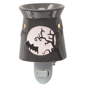 halloween nightlight candle