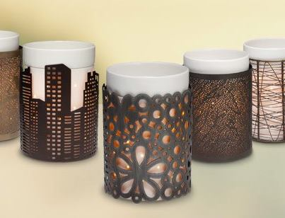 metal wraps for candles