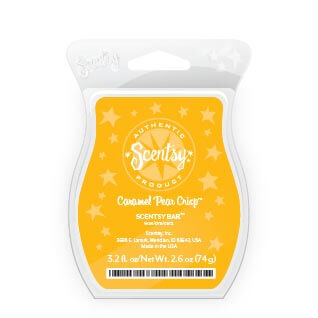 caramel pear scent