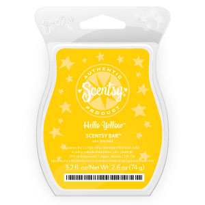 hello yellow scentsy scent