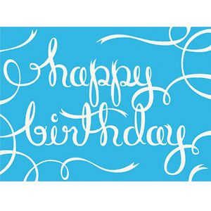 scented birthday card