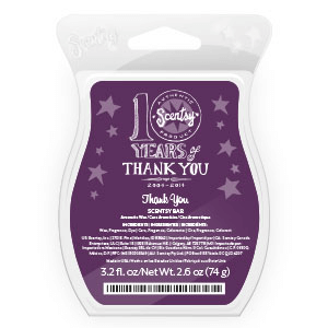 scentsy bar thank you