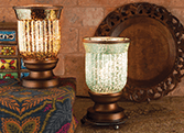 scentsy lampshade glass warmers